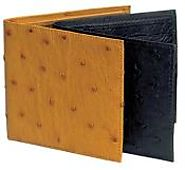 Durable And Stylish Ostrich Leather Wallets For Men