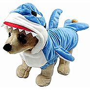 Shark Jaws Dog Halloween Costume