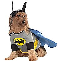 UHC Batman Dc Comics Superhero Fancy Dress Puppy Halloween Pet Dog Costume