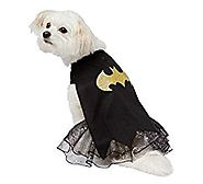 Dc Comics Batman Dog Pet Dress Costume with Cape