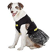 DC Comics Batman Batgirl Dog Dress-Up Halloween Costume Size: XS