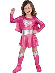 Pink Supergirl Toddler