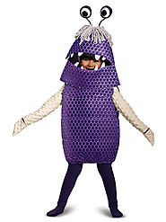 Toddler Monsters Inc. - Boo Costume Deluxe