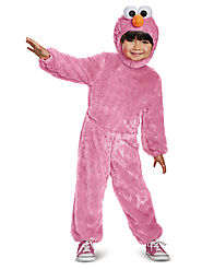 Baby Pink Elmo Comfy Fur Costume