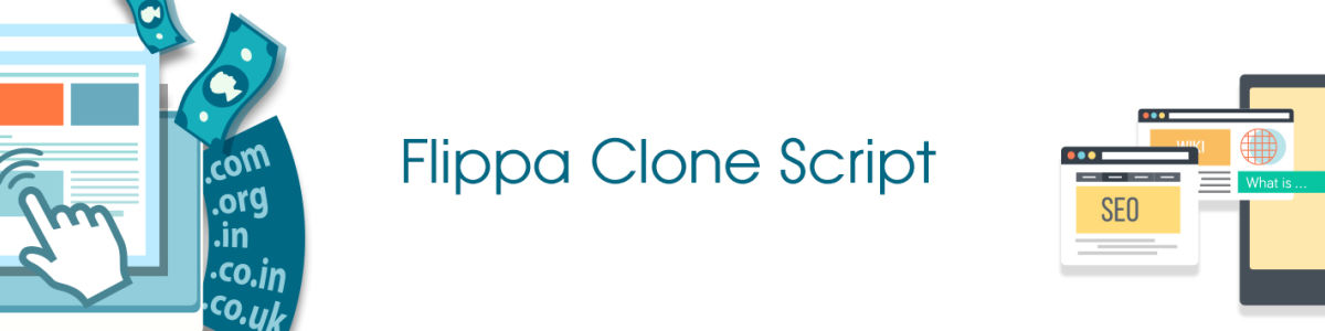 Headline for Flippa Clone Script