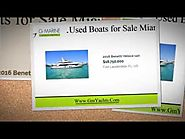 Used Boats for Sale Miami