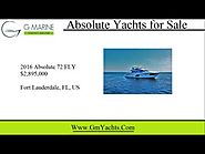 Absolute Yachts for Sale