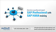 SAP HANA Training Online