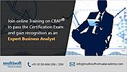 4 Important Benefits of Obtaining A CBAP Certification That You Can't Overlook