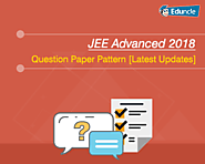 JEE Advanced 2018 Pattern | Question Paper Pattern [Latest Updates]