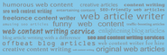 Web Content Writer - The Content Bloke
