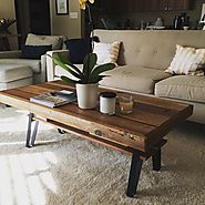 10 Rustic End Table and Coffee Table Ideas