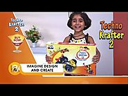 Techno Krafter 2 | Educational Toys Kit for Kids | Interactive Learning Indoor Games | Maha TV Shop