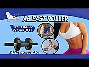 How to Lose Weight and Belly Fat | AB Fast Roller Workout | Get Six Pack Abs in Two Minutes