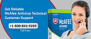McAfee Help Desk Phone Number's offered services.