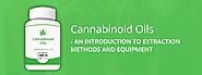 Cannabinoid Oils - An Introduction To Extraction & Equipment