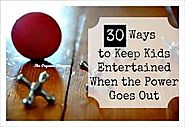 'I'm bored': 30 Ways to Keep Kids Entertained When the Power Goes Out - The Organic Prepper
