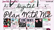 Digital Plan with Me ~Using OneNote~