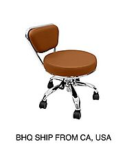 Pedicure Stool Cappuccino by Beauty Headquarters