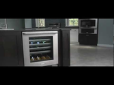"Electrolux 24"" under-counter wine cooler EI24WC65GS"