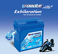 SF Sonic Presents Two Wheeler Batteries with Torque Exhilaration