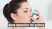 Top 8 Home Remedies For Asthma - Natural Treatment For Asthma