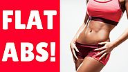 4 Exercises To Get A Flat Belly (SCULPT SEXY ABS!)