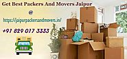 Packers And Movers Jaipur – An Inconvenience Free Moving Affiliation
