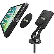 Bike Phone Mount, Universal Magnetic Bike Phone Holder Mount for iPhone Samsung, HTC, LG, Holds Up To 2 LB – Black By...
