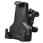 VAVA Bike Phone Mount, Phone Holder for Bike with Triangular Shape Arms to Keep Phones Safe (One-Handed Operation, 36...