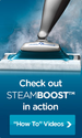 Swiffer BISSELL STEAMBOOST Steam Mop Product Features