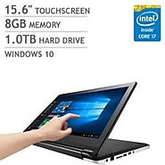 Asus Flip 2-in-1 15.6-inch High Performance Touchscreen convertible Laptop or Tablet