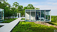 Glass House In New York'S Hudson Valley By Toshiko Mori | Ad India
