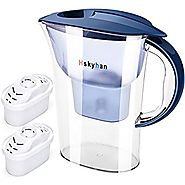 Hskyhan Water Filter Pitcher with Alkaline Filtration (2.5 Liters)
