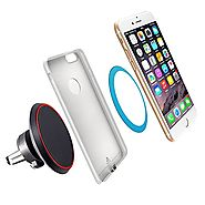 YTech Auto Wireless Charging – for iPhone 6 6s 6Plus 7 7Plus(need YTech receiver)- Wireless Charging Pad for car Sams...