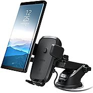 iOttie Easy One Touch Qi Wireless Fast Charge Car Mount for Samsung Galaxy S8, S7/S7 Edge, Note 8 5 & Standard Charge...