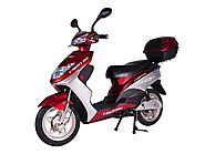 X-Treme XB-504 Electric Powered Bicycle Scooter (Burgundy)