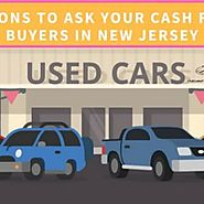Questions To Ask Your Cash For Car Buyers In New Jersey