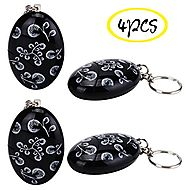 WER 120dB Loud Emergency Personal Alarm Keychain SOS Keyring for Kids, Students, Women, Girls,Elderly, Adventurer,Nig...