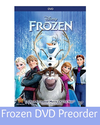 Frozen DVD On Sale Preorder Now