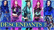 DESCENDANTS 2 EVIE, MAL, UMA Halloween Costumes for Kids and Adults 🍎🐉🐙