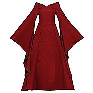 CosplayDiy Women's Dress for Game of Thrones Cersei Lannister Cosplay Red