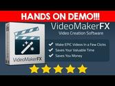 Video Maker FX - Make Videos Like The PROs - VideoMakerFX Review