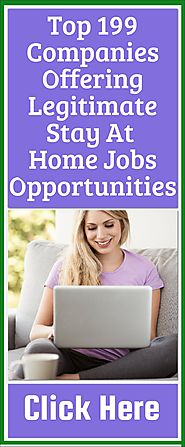 199 Best Stay at Home Jobs Without Investment