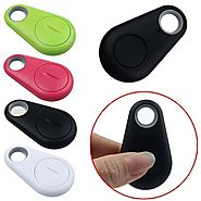 Bluetooth 4.0 Phone Tracker Alarm iTag Mini Wireless Key Finder for Anti-lost, Selfie Shutter, Compatible with IOS an...