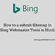 How To Submit Sitemap In Bing Webmaster Tools In Hindi.