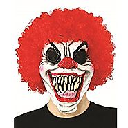 Acid Tactical Scary Creepy Halloween Clown Evil Latex Mask - Pennywise Clown