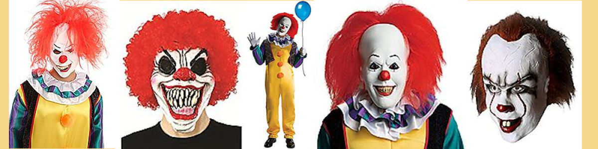 Headline for It Pennywise Halloween Costumes