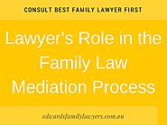 Lawyer's role in the family law mediation process