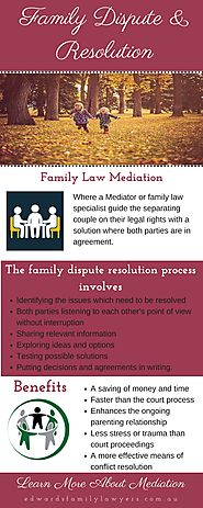 Family Law Mediation & Dispute Resolution Frequently